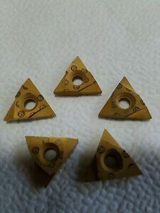 5 Carboloy Acme Threading Carbide Inserts Cutters