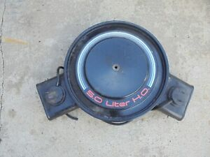 83 86 Camaro Z28 H o Air Intake Assembly Air Cleaner Housing Dual Snorkle