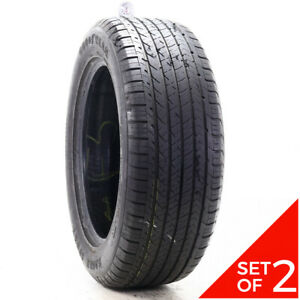 Set Of 2 Used 275 55r20 Goodyear Eagle Sport As 117v 6 5 32