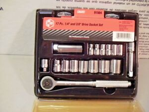 Kd Tools 91504 Sae Socket Set 17 Piece 1 4 3 8 Drive Made In Usa