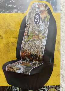 Browning Universal Seat Cover In Mossy Oak Break Up Infinity W Pink Trim Bsc2001