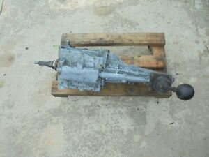 No Shipping Local Pickup 84 92 Camaro Firebird V8 T5 5 Speed Sbc Bb Transmission