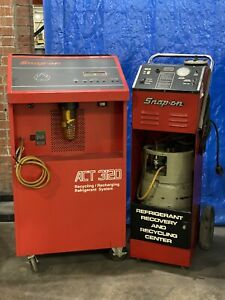 Snap On Act3120 R12 Refrigerant Recycling System Recycling Center Act 3120