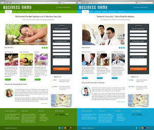 Business Website With Appointment Booking System For Beauty Salons Doctors