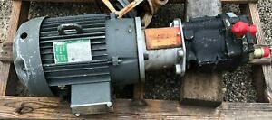 10 Hp Vickers Hydraulic Pump Pvq40 B2r Se1s With Lincoln Motor