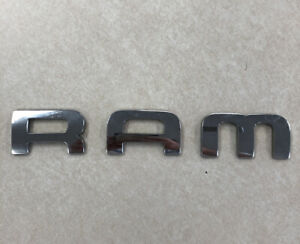 2002 2008 Dodge Ram 1500 Side Door Chrome Emblem Badge Symbol Logo Oem