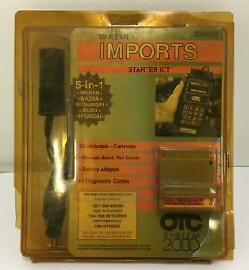 Otc Monitor 2000 Imports Starter Kit 89 Asian 3302 01 5 In 1 Cable Cartridge