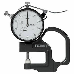 0 50 Dial Thickness Gage
