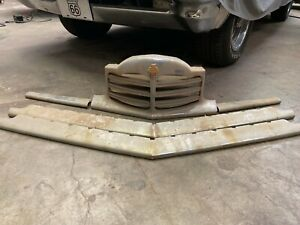 1948 1949 1950 Packard Grill 5 Pieces Excellent Condition