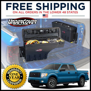 Undercover Driver Left Side Swing Case Toolbox For 1997 2014 Ford F150 All