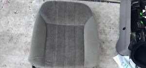 00 05 Chevy Monte Carlo Passenger Right Front Seat Back Gray Cloth Cushion