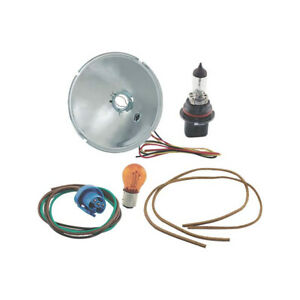 Model A Ford Headlight Turn Signal Adapter Kit 12 Volt Amber Complete