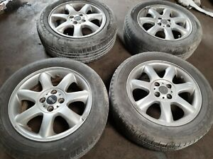 2008 2012 Mini Cooper Clubman Wheel Rims W Tires Set Of Four 205 55 R16 Oem