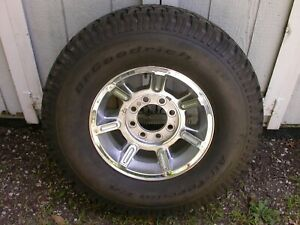Hummer H2 Spare Tire And Wheel Bfg All Terrain T A Lt 315 70 R17 Never On Road
