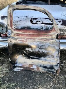 1935 1936 Ford 5 Window Coupe Right Door Needs Body Work 35 36