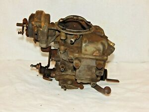 Vintage Carburetor Mfg By Carter weber For Motorcraft Parts Repair Restoration