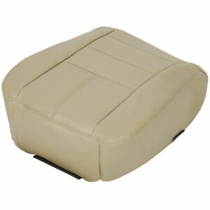 2008 2009 2010 Ford F250 Lariat Driver Bottom Replacement Seat Cover Camel Tan