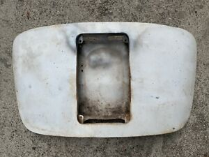 Porsche 356 A B Coupe Engine Lid Decklid Single Grill Stamped 120