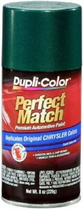 Dupli color Forest Green Pearl Chrysler Perfect Match Automotive Paint 8 Oz