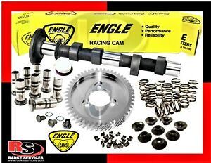 Vw Engle W110 Complete Cam Kit W gear Lifters springs Retainers Keepers Radke
