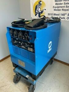 Miller 330st Aircrafter Air cooled Tig Welding Welder For Aluminum And Steel