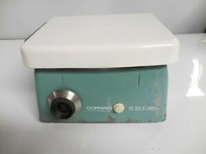 Vintage Corning Pc 353 Laboratory Magnetic Stirrer 6 X 7 Top Plate