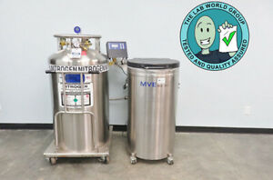 Mve Xlc 511 Liquid Nitrogen System With Auto fill With Warranty See Video