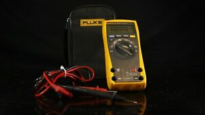 Fluke 77iv High Performance Multimeter With Leads And Accessories