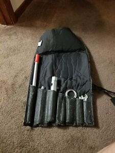 Porsche Leather Tool Roll With Original Tools Extremely Rare Find