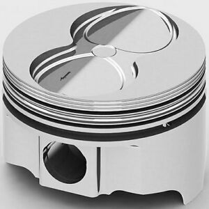 United Engine Machine Ic9946 060 Pontiac 400ci Fhr Forged Pistons Flat Top 4v 4