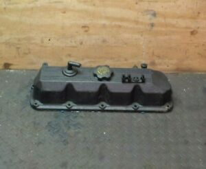 Jeep Wrangler Yj 25 91 95 Fits 87 90 Factory Oem Engine Valve Cover 4cyl Alumn