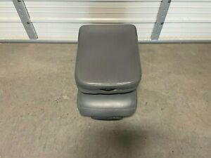 2002 2008 Dodge Ram 1500 2500 3500 Front Center Jump Seat Console Gray Vinyal