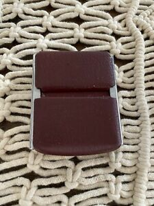 1964 Ford Fairlane 500 Seat Belt Buckle Red