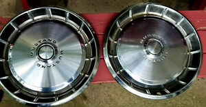 Ford Mustang Hubcaps Vintage Classic 1971 1972 1973 14 Wheel Covers 2