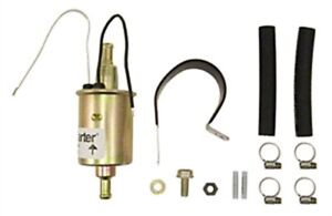 Carter P90021 Universal In line Fuel Pump 5 5 Psi 3 8 Barb Inlet outlet 15gph Fr