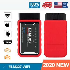 Mini Elm327 Wifi Obd2 Code Reader Diagnostic Scanner Reset Tool For Ios Android