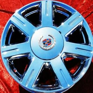 Exchange Set Of 4 Chrome 17 Cadillac Dts Oem Factory Wheels Rims 4600