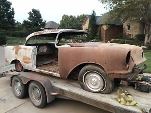 1955 Oldsmobile 98 Two Door Holiday Hardtop Parting Out Car