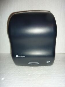 San Jamar 102149 Towel Dispenser Classic Black 1
