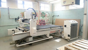 Laguna Tools Smart Shop Ii 220 3ph 4 x 4 Table Cnc Router W 12hp Spindle New 16