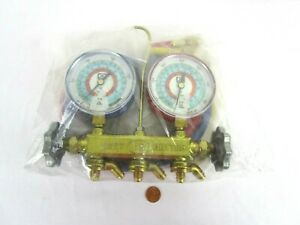 New Jb Industries Jus Better 2 valve Brass Manifold With 36 Kobra Ccle Hoses