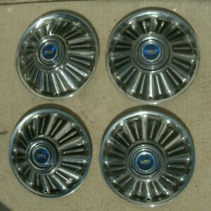 66 67 68 Ford Fairlane Galaxie Hubcaps Wheel Covers Center Caps Hub Caps