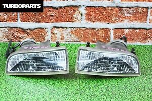 Jdm Oem Front Fog Lights For Honda Prelude Bb5 Bb6 Bb7 Bb8 1997 2001