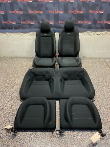 2016 Ford Mustang Gt Oem Front Rear Cloth Seats