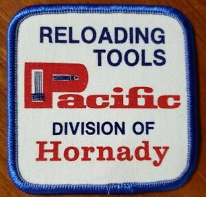 Pacific Reloading Tools Crest Patch Hunting Guns Vintage Division of Hornady C $15.00