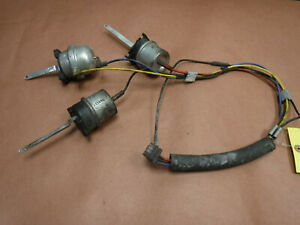 Jeep Wrangler Tj 1997 3 Heater Box Vacuum Canisters Actuators For Non Ac
