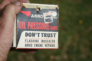 Arrow Nos Nib Vintage Oil Pressure Gauge