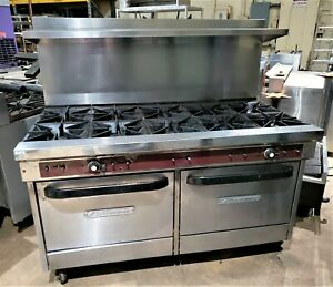 South Bend 10 Eye Stove With 2 Convection Ovens