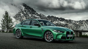 2021 BMW M3 Competition Auto Car Silk Wall Art Poster Print 24x36 inch $19.99