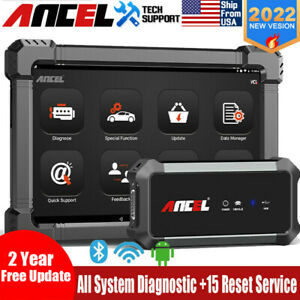 Bi directional Automotive Bluetooth Full System Obd2 Scanner Car Diagnostic Tool